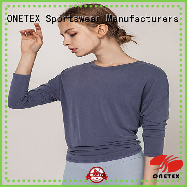 quick-dry fabric active shirts womens Supply for sport