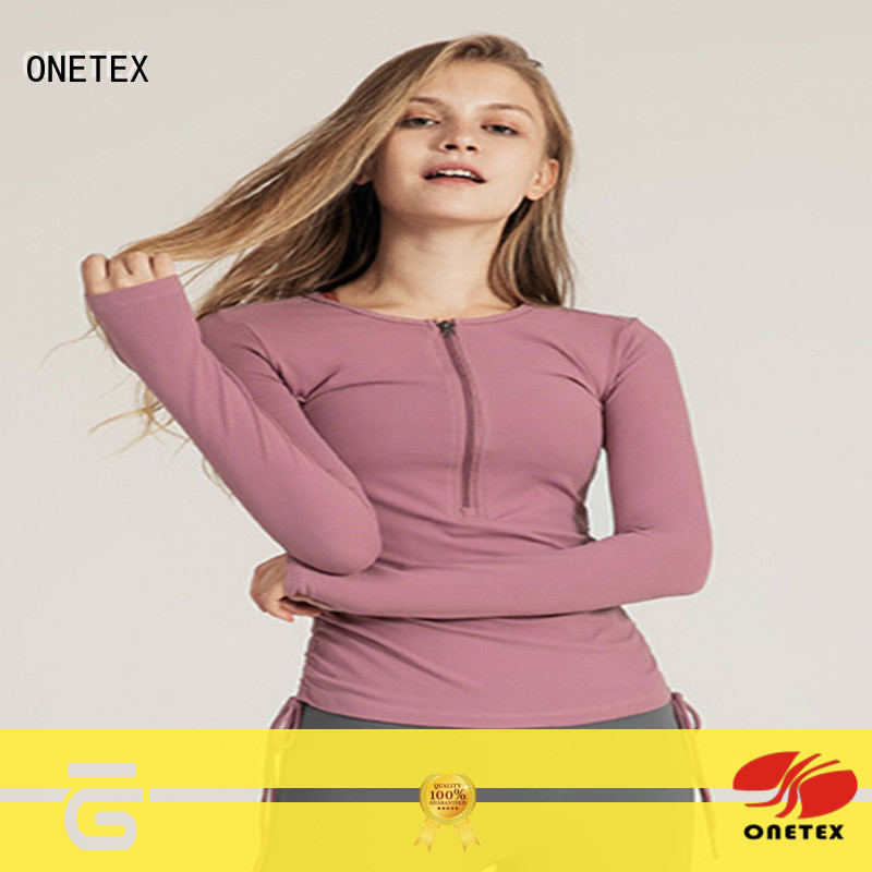 ONETEX keep warm gym shirts womens the company for daily