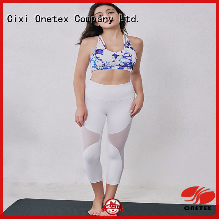 ONETEX Customized ladies running clothes manufacturer for activity