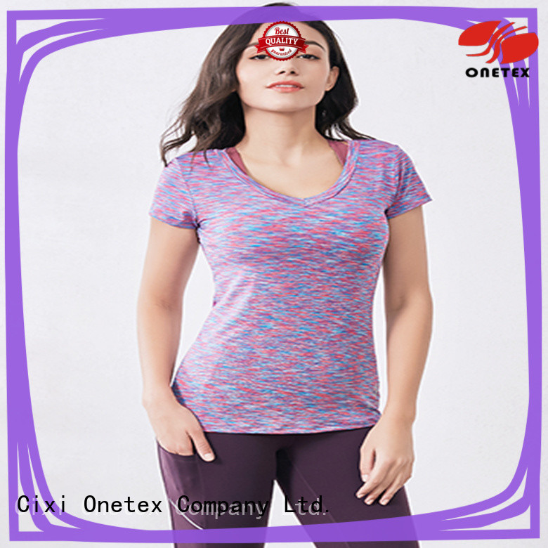 ONETEX gym shirts for sale manufacturers for Outdoor sports