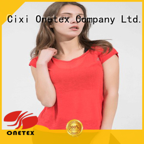 ONETEX Breathable sport shirt companies the company for work out