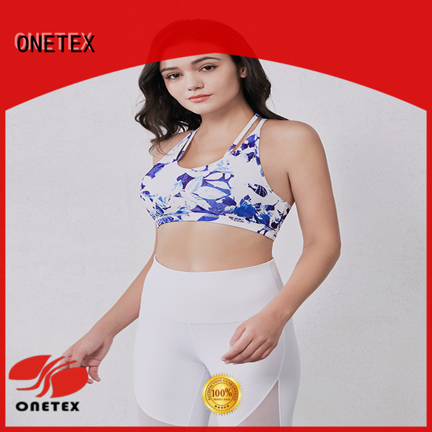 custom made fashion sports bras China for Fitness