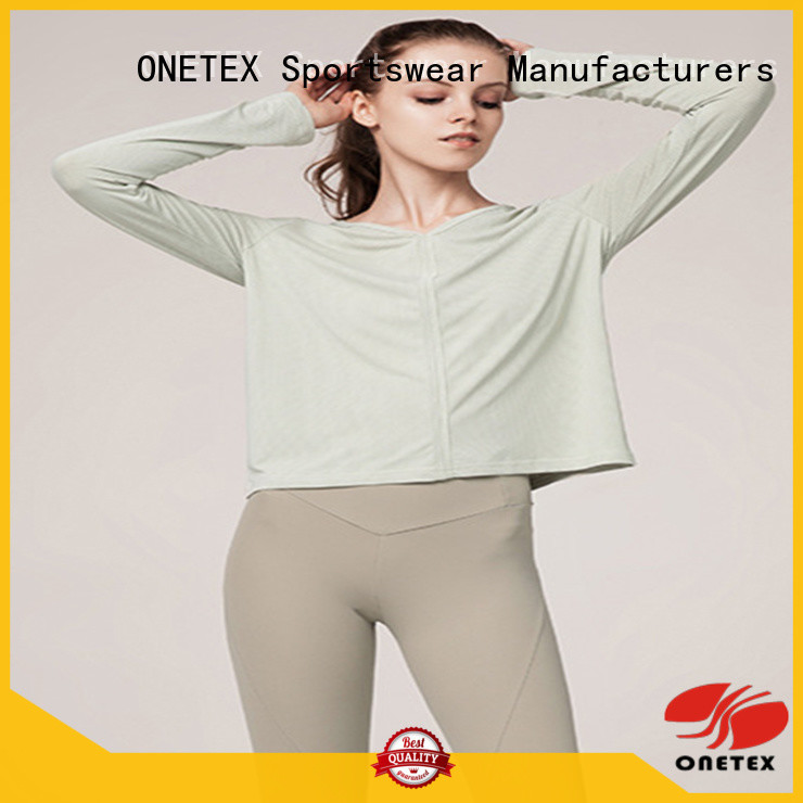 ONETEX ladies fitness wear China for sports
