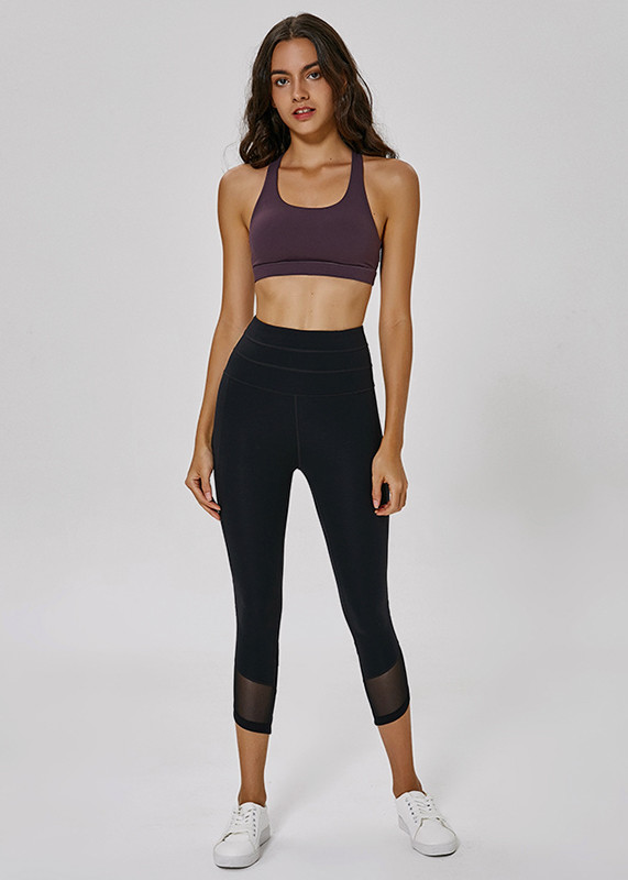 High Waist Fitness GYM Workout Womens Leggings with Pocket  L19004