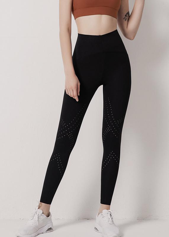 High Waist full length Running leggings 4 Way Stretch Womens  workout gym Leggings L19001