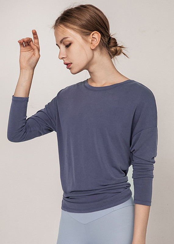 workout shirts for women Casual Loose Fit Back Butterfly Shirt  TW19003