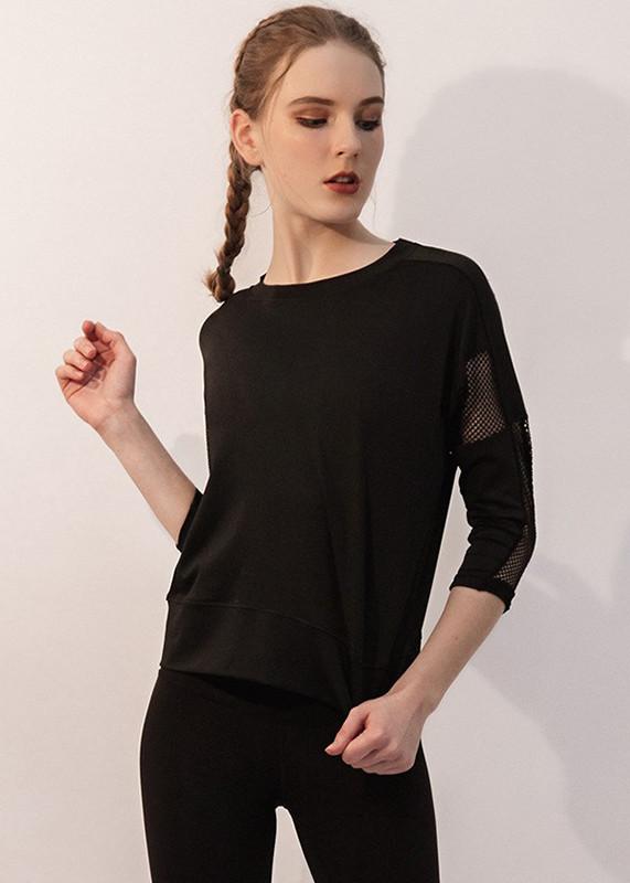 Custom Soft Mesh workout shirts Jersey Scoop Neck Short T Shirts TW19005