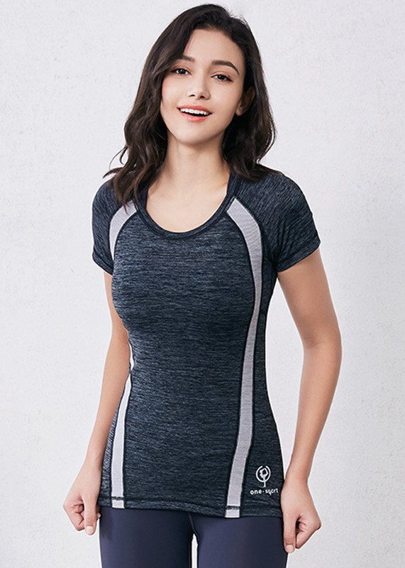 workout shirts for women Moisture Wicking Athletic T shirts TW19008