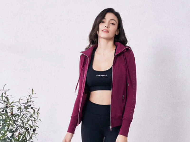 Onetex Active wear products display
