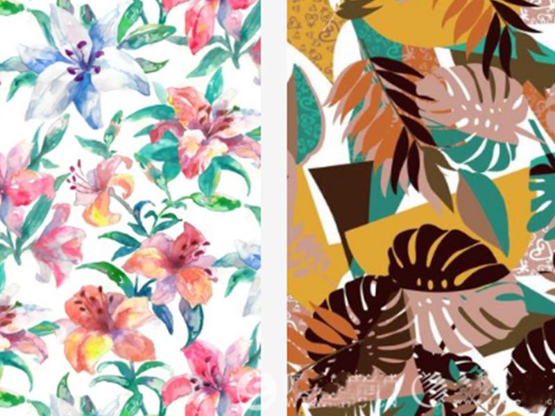 news-2020 SpringSummer Print Trend Paradise garden-ONETEX-img