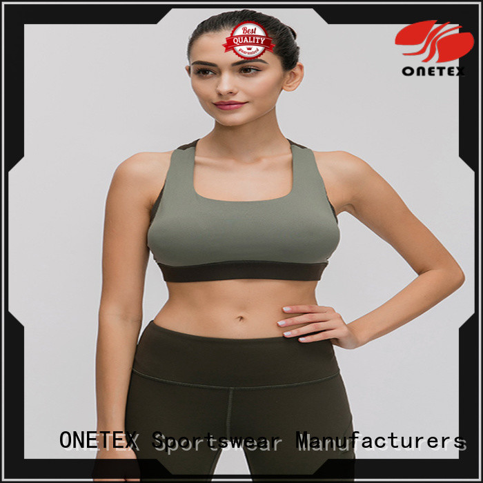 Top customize sports bras the company for Exercise