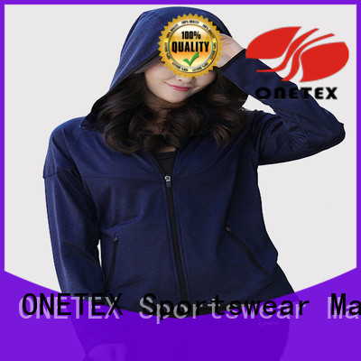 ONETEX new design ladies lightweight hoodie factory for Fitness