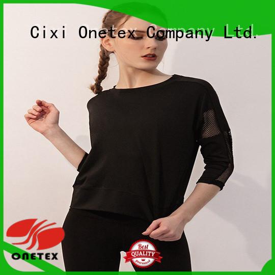ONETEX gym shirts womens China for sport