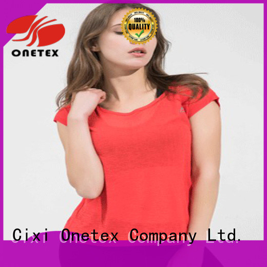 Dress appropriately women's athletic shirts China for activity