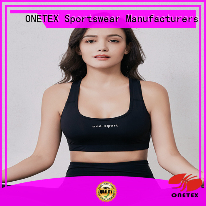 ONETEX best women's sports bra China for work out