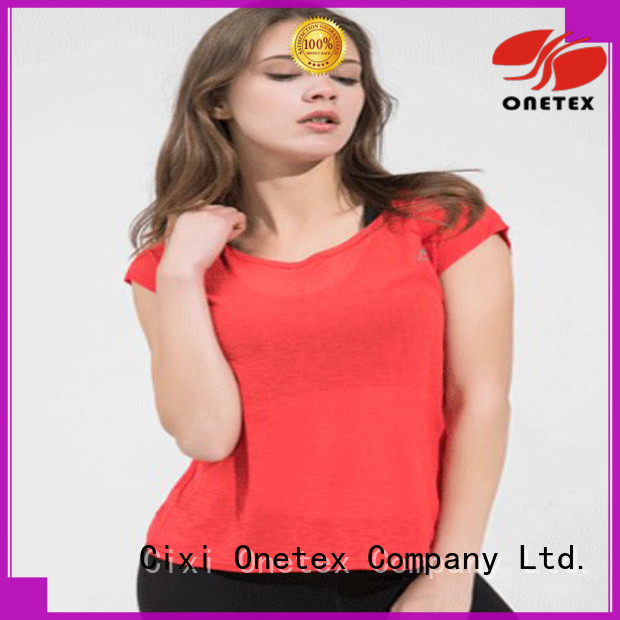 Bright colors sport shirt supplier factory for Fitness