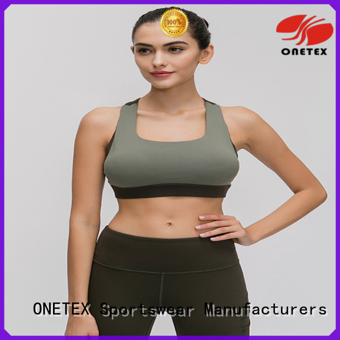 ONETEX Stylish women's fitness apparel Factory price for sports