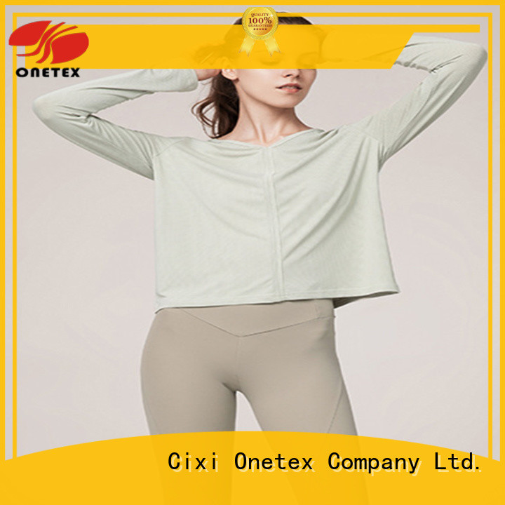 Fashion exercise clothes for women manufacturer for activity