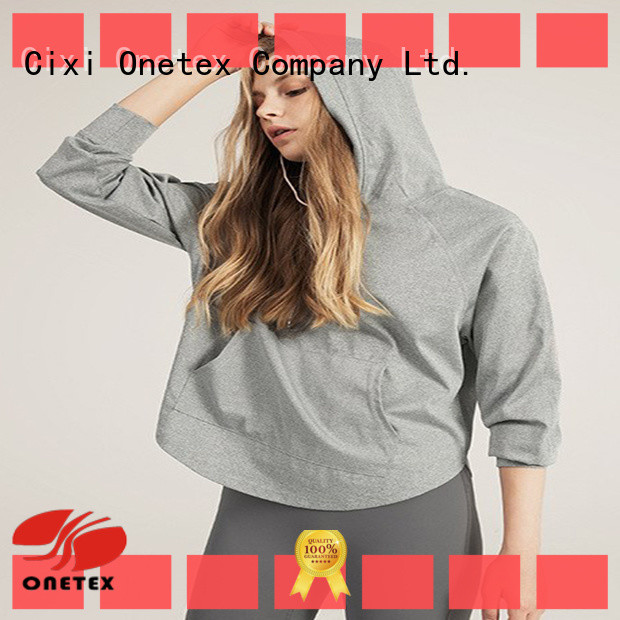 custom made womans hoodies wholesale for Fitness