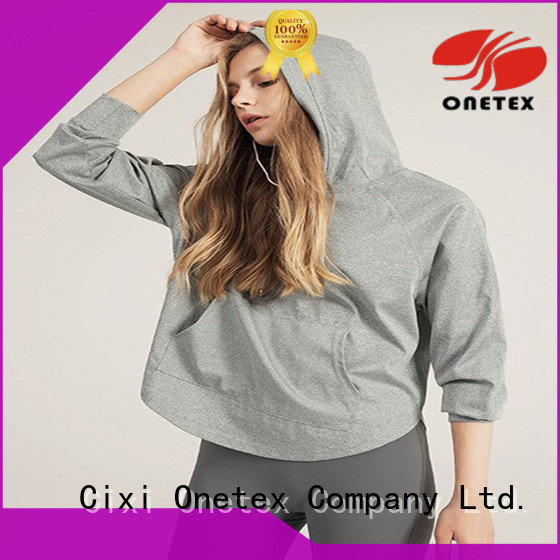 ONETEX Customized sports hoodie womens China for Outdoor activity