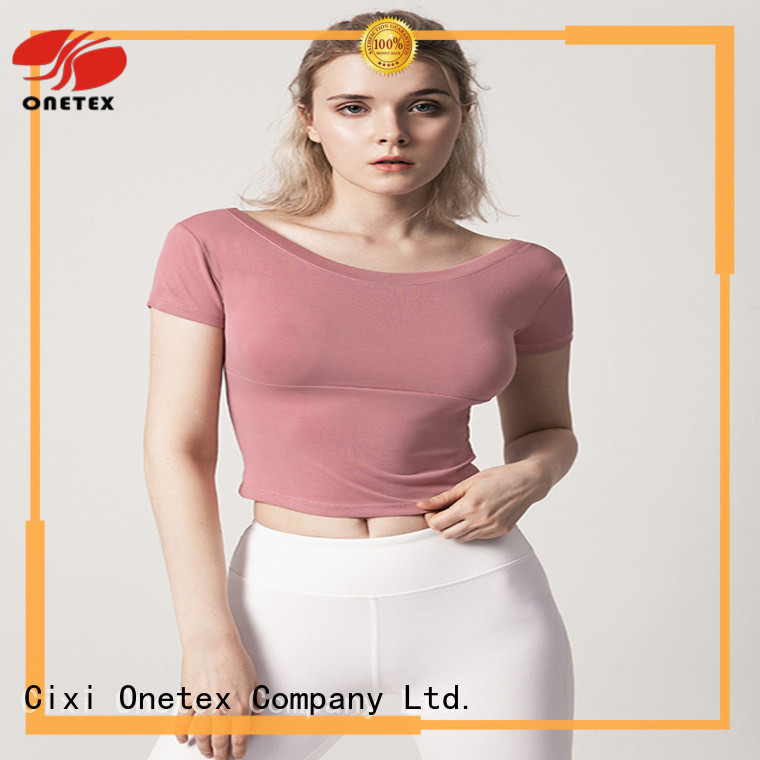 ONETEX Comfort performance womans gym wear China for work out