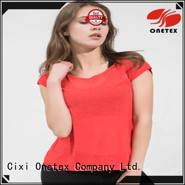 ONETEX popular workout shirts for women factory for work out