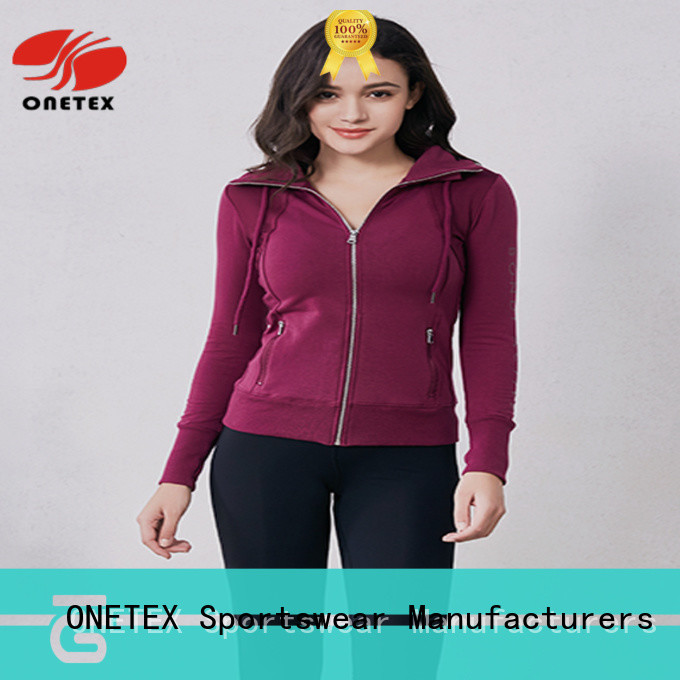 ONETEX Stylish new sports jacket Factory price for sports