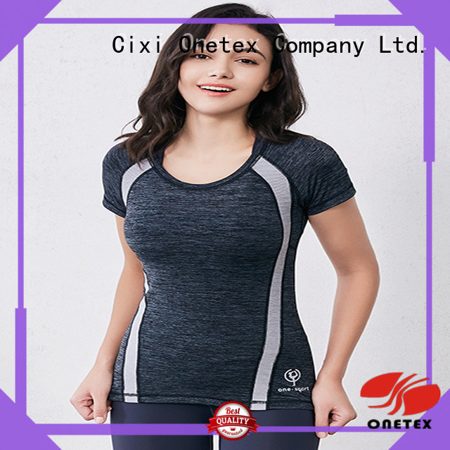 Customized exercise shirts womens Supply for work out