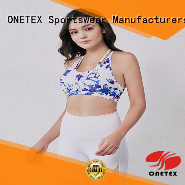 Quick-drying sports bra for gym manufacturers for activity