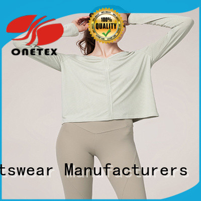 ONETEX new design best workout shirts factory for Outdoor sports