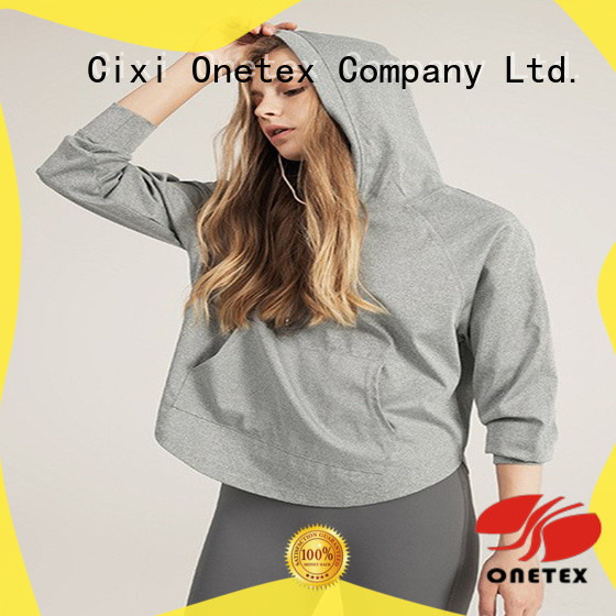 ONETEX buy womens hoodie supplier for Exercise