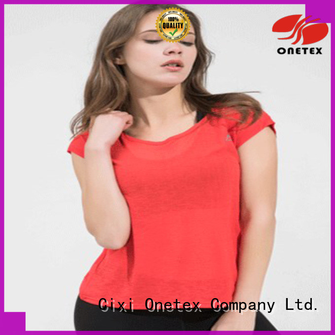 ONETEX reduce injury function gym dress for women manufacturer for Outdoor sports