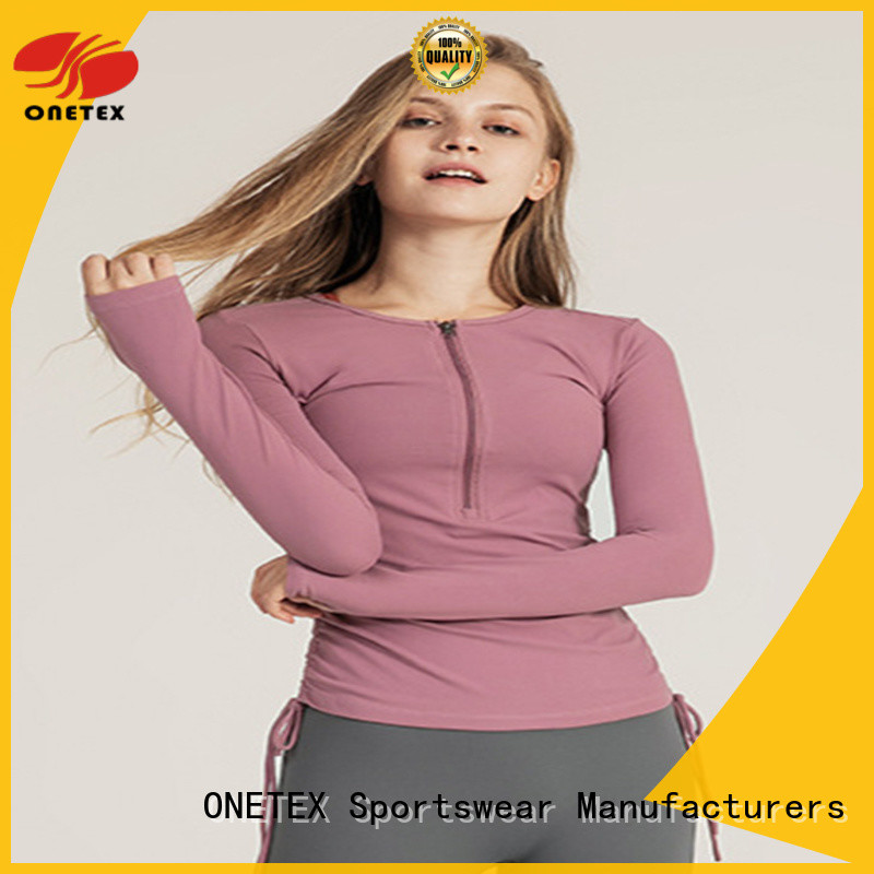 ONETEX exercise shirts womens Supply for work out