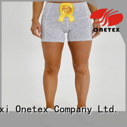 Wholesale female fitness shorts factory for mountain climbing tourism