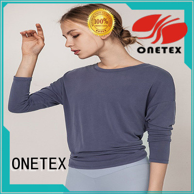 ONETEX custom sports shirts manufacturer for work out