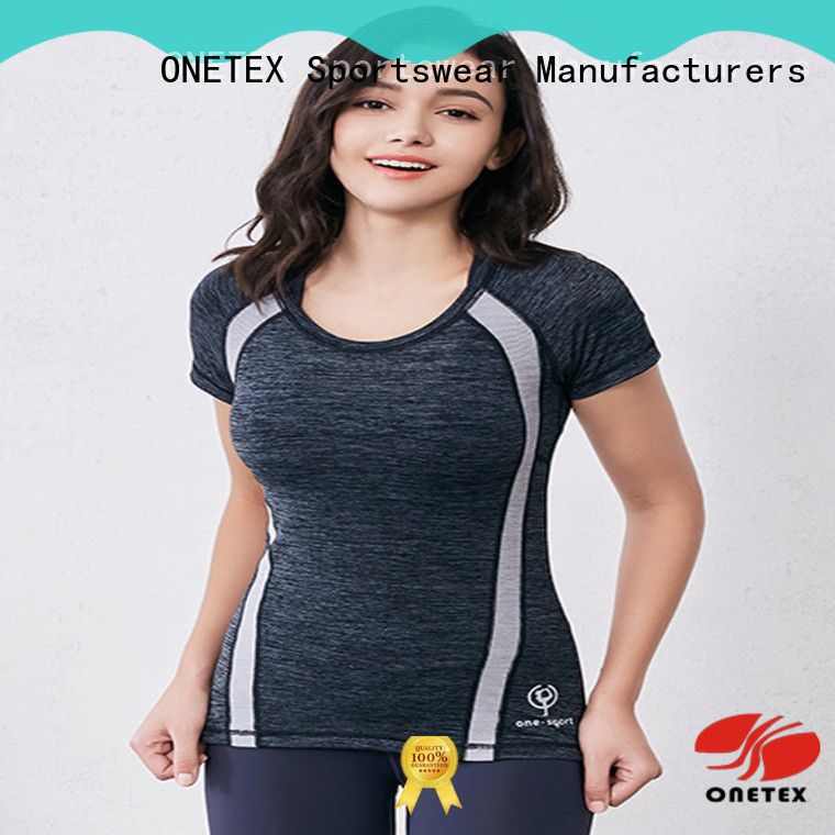 ONETEX Fashion gym shirts for ladies the company for Exercise