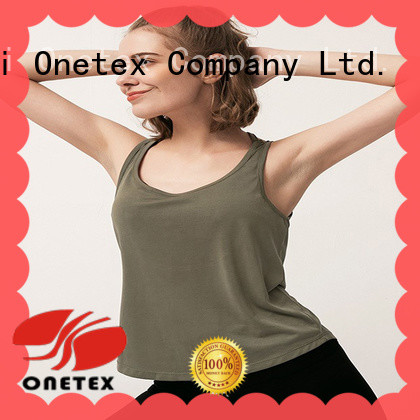 ONETEX quick-dry fabric active shirts womens Suppliers for sports