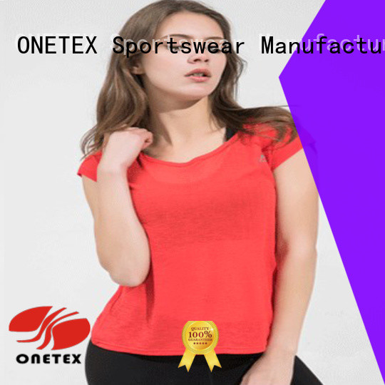 ONETEX gym wear clothes factory for Fitness