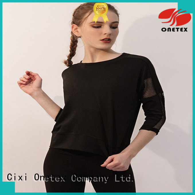 ONETEX gym t shirts for women China for sports