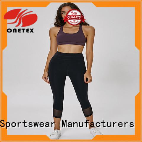 ONETEX custom athletic leggings factory for Fitness