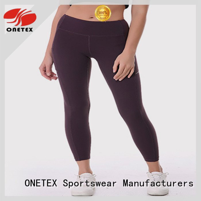 ONETEX Breathable female workout clothes Supply for daily