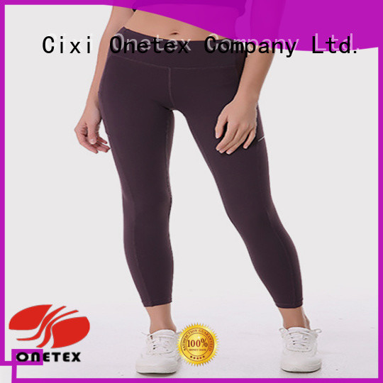 ONETEX Breathable ladies sports clothes factory for work out