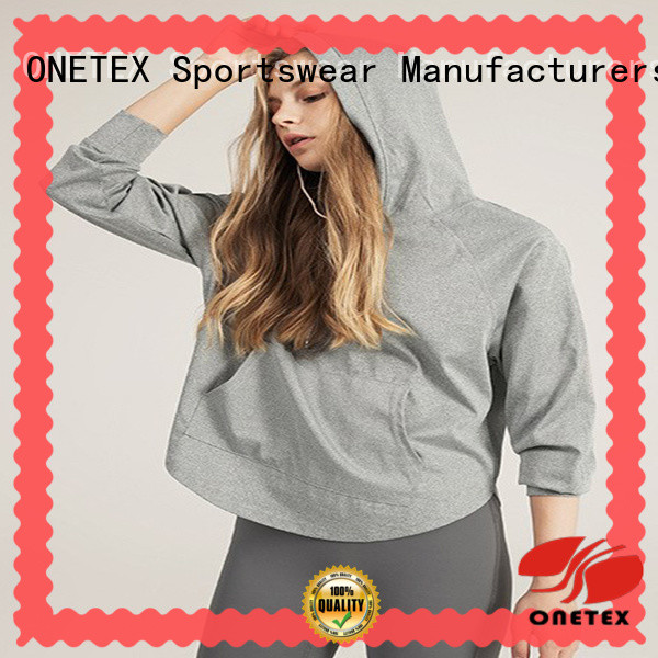 ONETEX comfy hoodies womens factory for Fitness