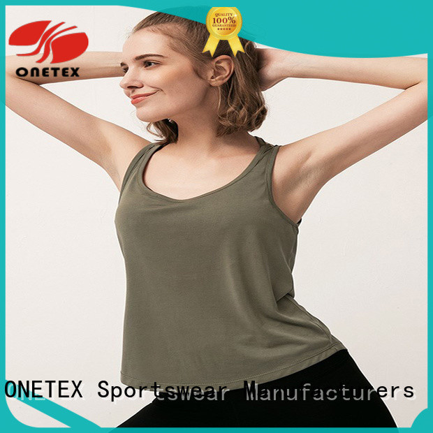 ONETEX new design best gym shirts wholesale for sports