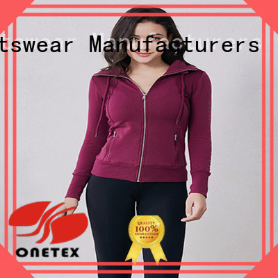 Stylish ladies athletic jackets Suppliers for cold season walking