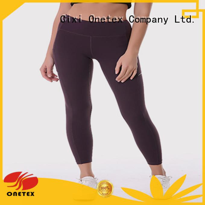 ONETEX custom made ladies sports leggings company for Exercise