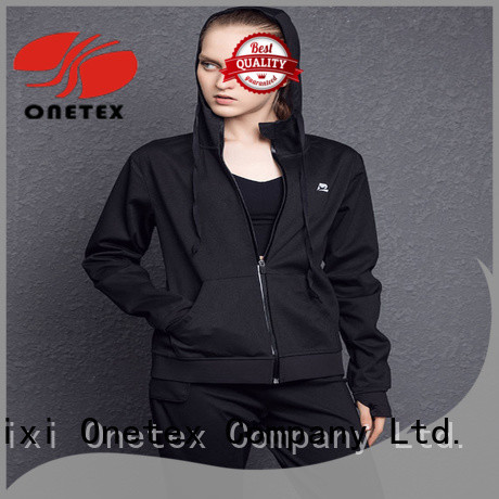 ONETEX Breathable athletic hoodie supplier for Fitness