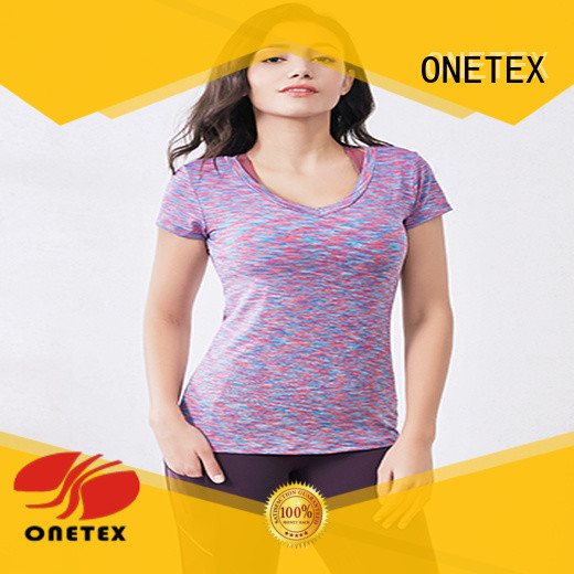 ONETEX Fashion gym t shirts for women supplier for daily
