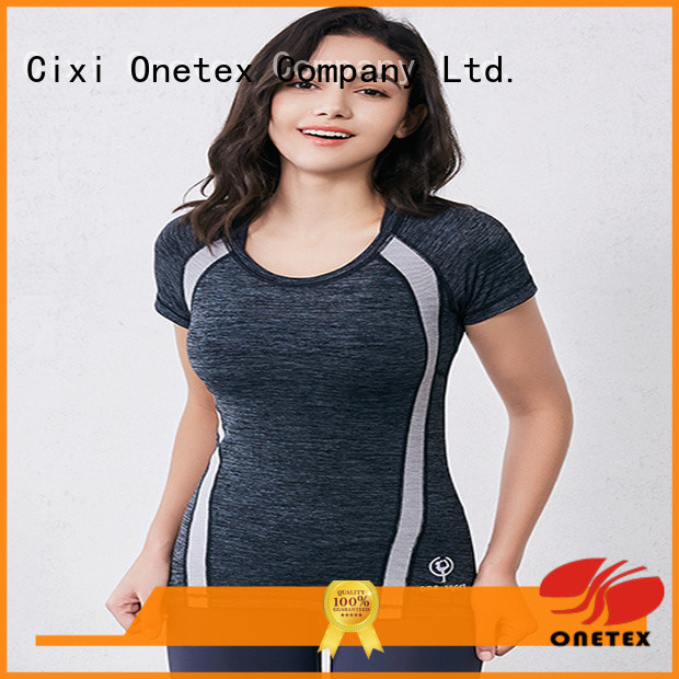 ONETEX keep warm ladies sportswear Factory price for Exercise
