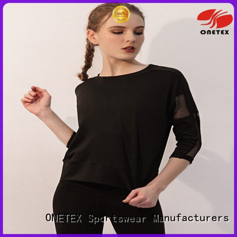ONETEX Top exercise shirts China for Fitness